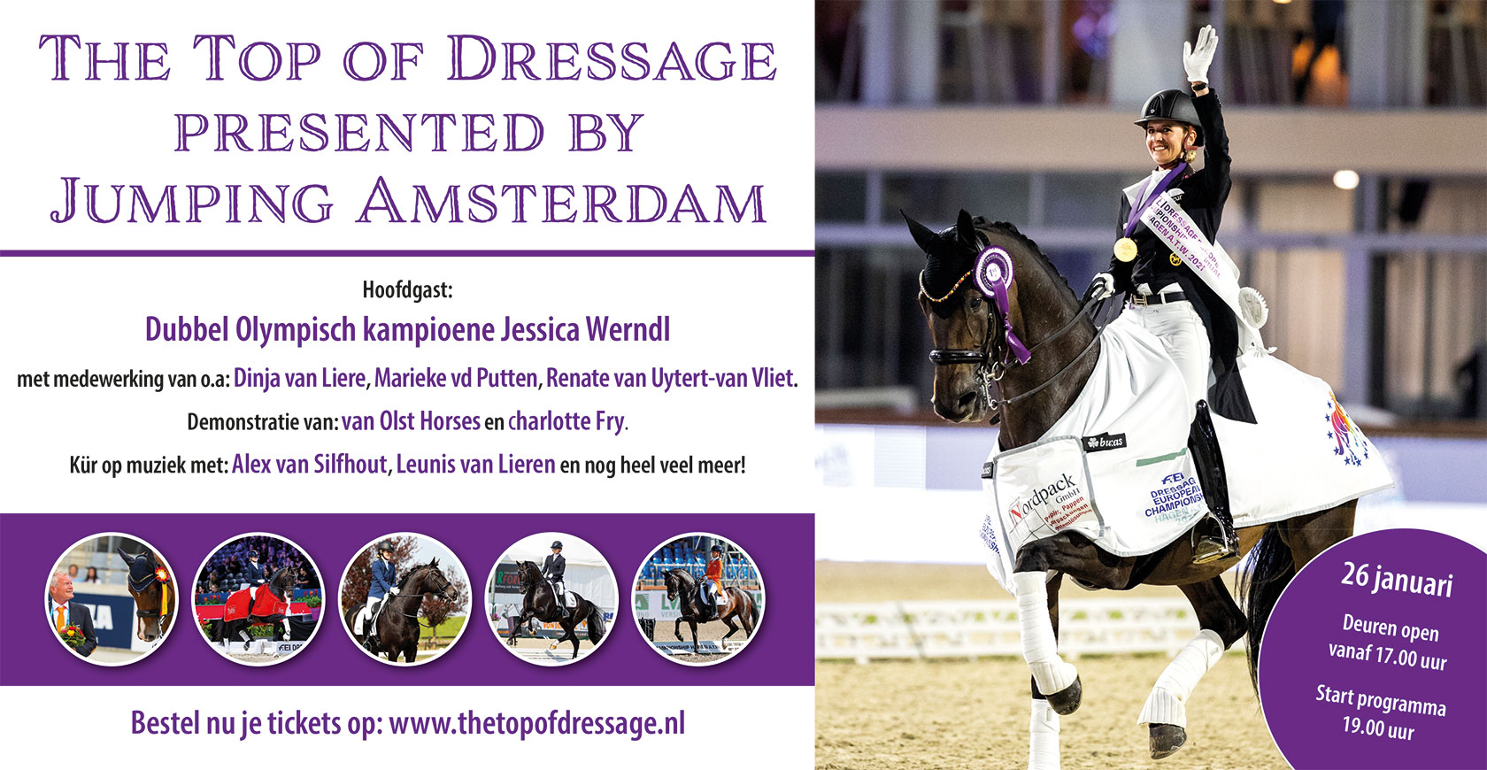 The top of dressage presented by Jumping Amsterdam